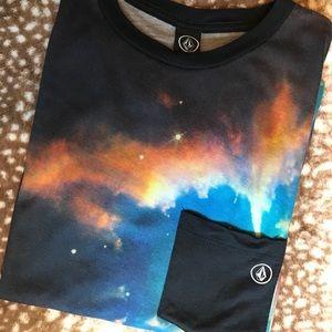 Volcom Galaxy Men's Pocket T Shirt
